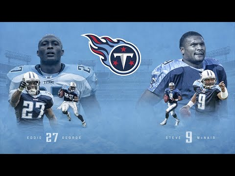 new styles 65ce1 355f0 Press Conference: Titans Retiring Jerseys of Eddie George, Steve McNair