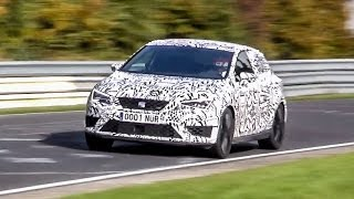 7 58 2014 seat leon cupra r setting a new fwd lap record on the nrburgring