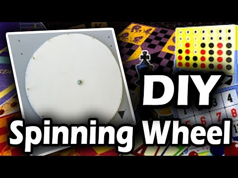 DIY Spinning Wheel Tutorial