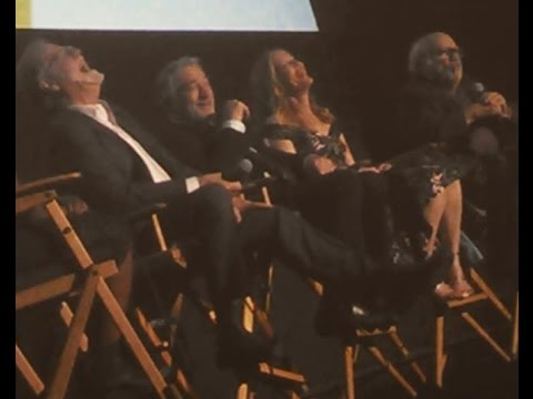 THE COMEDIAN Q&A with Robert De Niro, Danny DeVito, Leslie Mann, Taylor Hackford at AFI FEST 2016