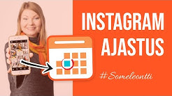 Instagramin ajastaminen Facebook Creator Studiossa -Markkinointivinkit-Someleontti / Sanya Saarinen