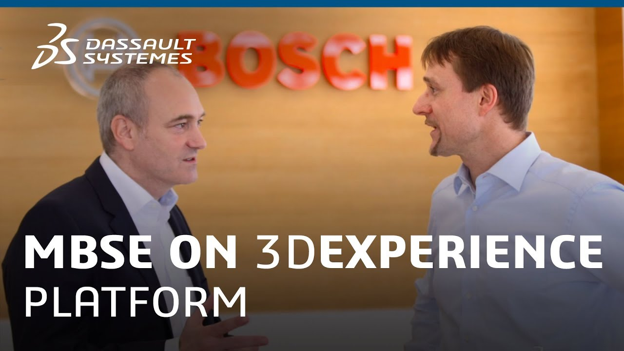 Bosch Car Multimedia - MBSE with the 3DEXPERIENCE platform - Dassault  Systèmes