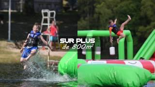 TREIGN'AQUA PARK 2017 - Total WipeOut en Corrèze - Lac de Treignac
