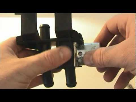 Ford Fiesta, Ka, Puma heater control valve - failure of pattern-part