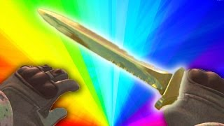 CSGO: GOLDEN KNIFE? Rats & Rust Arms Race Fun w/The Pack!