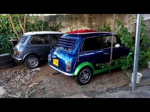 Mini vintage car mauritius