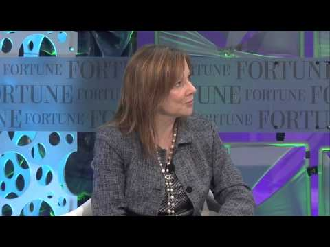 GM CEO Talks About Being In The Drivers Seat | Full Interview Fortune MPW
