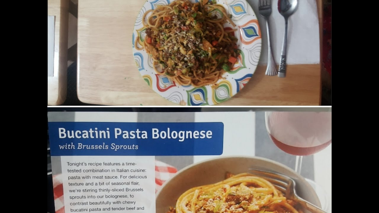 Blue apron bucatini - Cooking With Blue Apron Arlenelivs