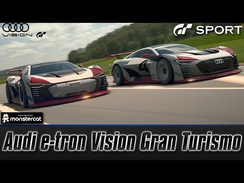 Gran Turismo Sport: Audi e-tron Vision Gran Turismo (Test Drive + Review) | ELECTRIC VS. HYBRID
