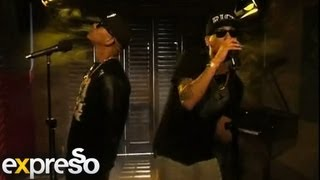 "Da L.E.S  performs ""Heaven"" featuring AKA  live on Expresso"