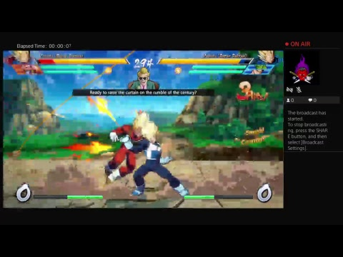 Kaos_FHP's Live PS4 Broadcast db z fighter beta