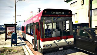 Video GTA 5: BusVlog - Ônibus Coletivo download MP3, 3GP, MP4, WEBM, AVI, FLV Juli 2018