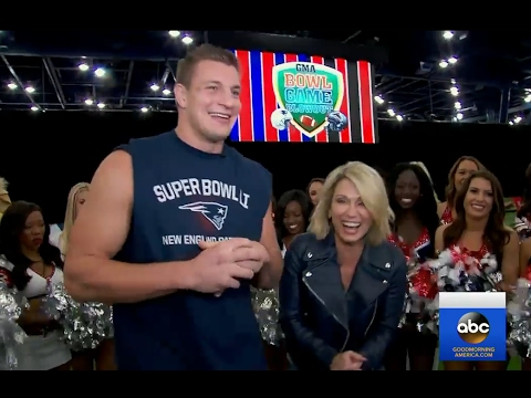 Rob Gronkowski Interview on Super Bowl 51 | GMA