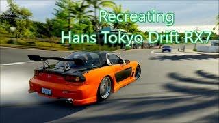 Forza Horizon 3|Recreating Hans RX7 from Tokyo Drift