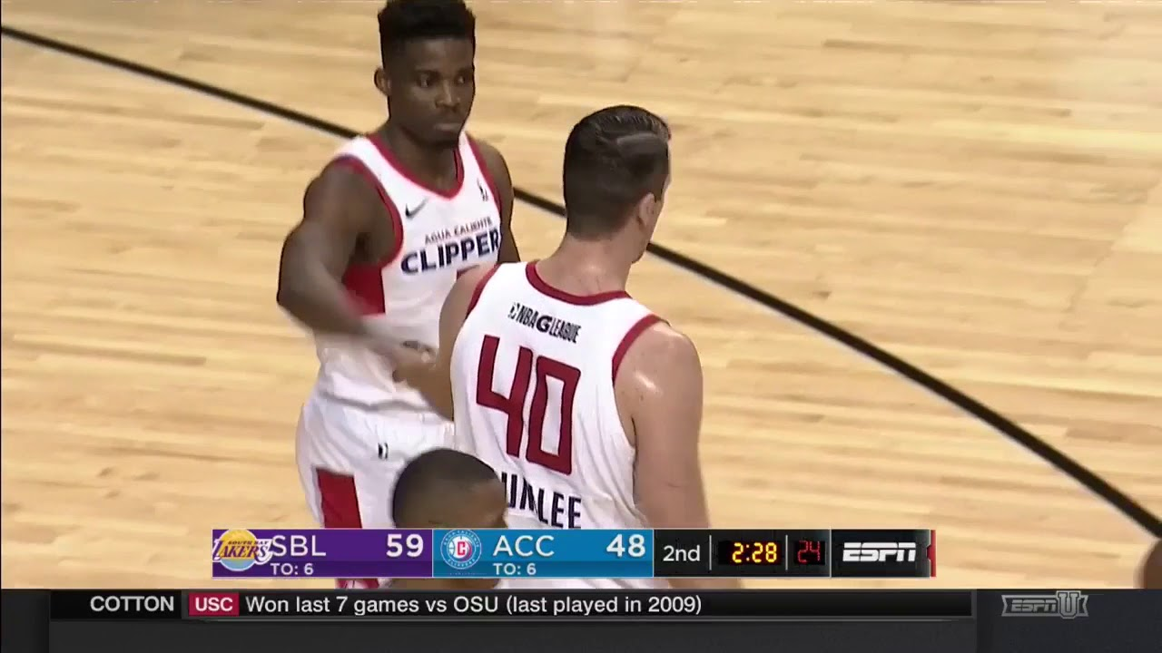 d75a250e6303 Agua Caliente Clippers Full Highlights vs. South Bay Lakers 12-28-17 ...