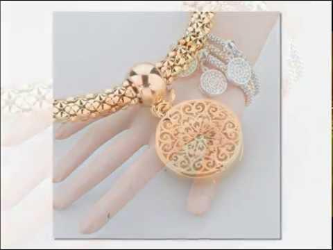 Женские браслеты Золото и Серебро