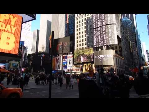 New York, New York - Theater District