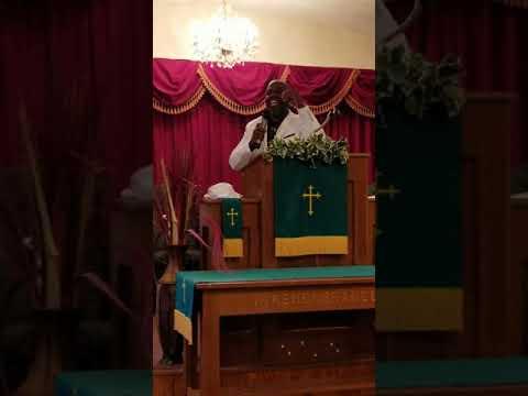 "Pastor Derek The Change Smith sermon ""Identity Theft"""