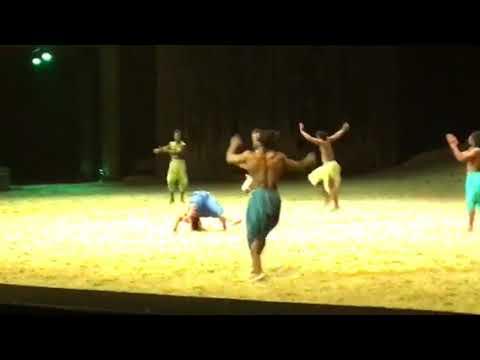 Acrobat performance Cavalia Odysseo