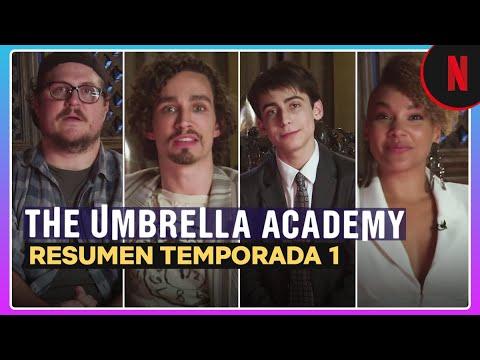 The Umbrella Academy | Resumen de la temporada 1 narrado por el cast