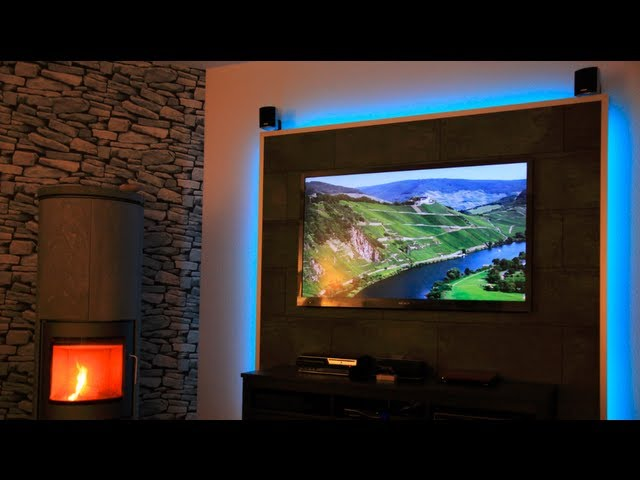 Led Tv Wand Selber Bauen - With Loop Control - Youtube For Musicians