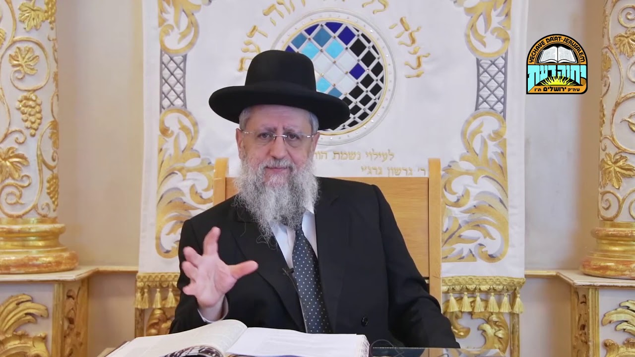 "Rabbi David Yossef - Coronavirus: ""Rules of Praying without a Minyan"""