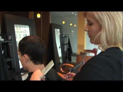 Haircut Tutorial: How to do Scissor Over Comb