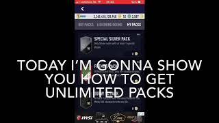 FUT 18 HACK IOS! GET UNLIMITED PACKS!