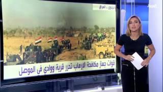 #أنا_أرى عناصر داعش تحرق مساجد جنوب الموصل