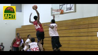 Isaiah Banks Rises up for the #MONSTER #Dunk at the #Elite100ATL | Atlanta Hoops TV