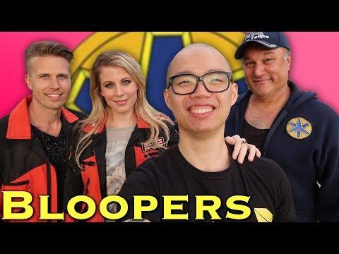 BLOOPERS: Lightspeed Lesson  feat. Alison MacInnis Power Rangers