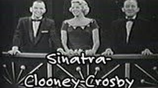 Bing Crosby, Frank Sinatra,  Rosemary Clooney and Louis Armstrong
