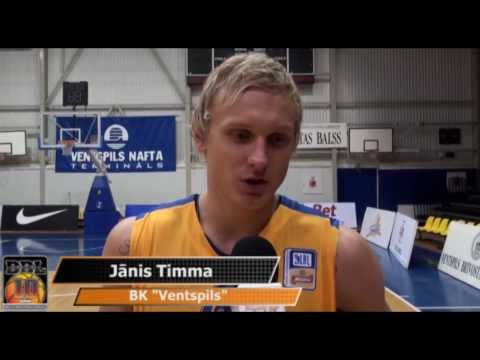 BBL November MVP: Janis Timma | Interview