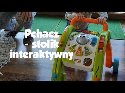 Pchacz Dla Dzieci 3w1 (stolik Aktywności)▫️ Nauka Chodzenia▫️ Zabawka Interaktywna Little Tikes