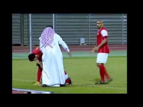 RIFFA SC -  Muharaq  1-0  highlights in BahrainTV Sport channel 6.12.2013 coach Motroc
