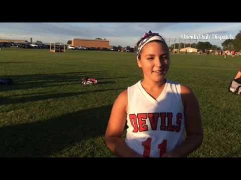 .@VVSRedDevils' Kirsten Oliver talks about the win over Camden.