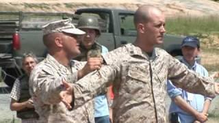 Marines estadounidenses reciben un entrenamiento especial