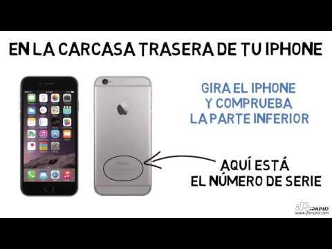 IFIXRAPID - ¿Dónde está el número de serie de iPhone 5 y iPhone 6?