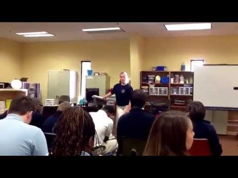 Chapel at Woodlees Christian Academy 3/26/13 (Living with Cerebral Palsy Part 1)