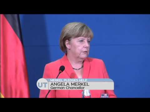Merkel Pledges Help to Serbia: German Chancellor promises to help with influx of migrants