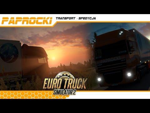 Euro Truck Simulator 2 PAPROCKI Transport #4 dodatkowe tereny Rosji Dombaj i ważne pytanie do WAS
