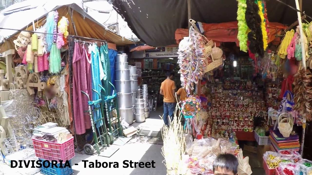 91b644569 Divisoria Tabora Street Shoppers Guide See What Product Items Are Available  - YouTube