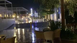 Гроза в Египте отель Риф Оазис бич Резорт Шарм эль Шейх 3 02 2021