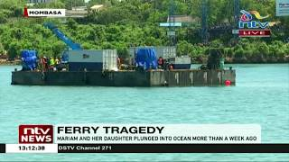Likoni Ferry: Special equipment set to pull out vehicle that plunged into ocean