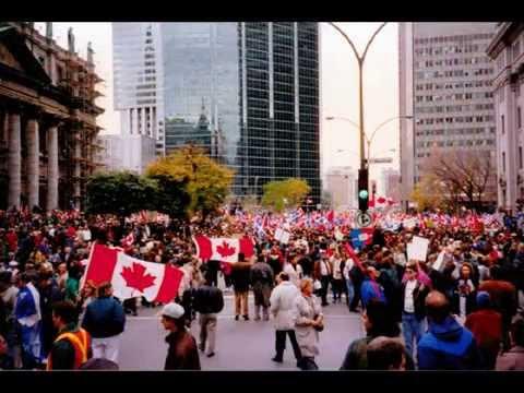 Montreal Referendum  October 1995
