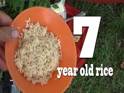CHRISTIAN PREPPING- what happens to rice after 7 years?
