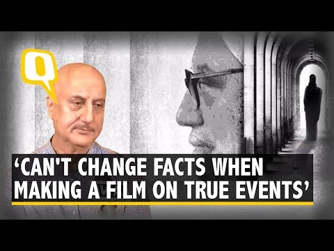 Anupam Kher on 'The Accidental Prime Minister: 'More Uproar, More Publicity' | The Quint