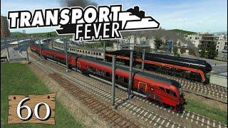 Transport Fever S6/#60: Feintuning an der Burg, inkl. Bahnhof [Lets Play][Gameplay][German][Deutsch]