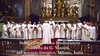 UNIVERSI, Graduale Gregoriano, SCHOLA GREGORIANA MEDIOLANENSIS, Giovanni Vianini, Milano, It.
