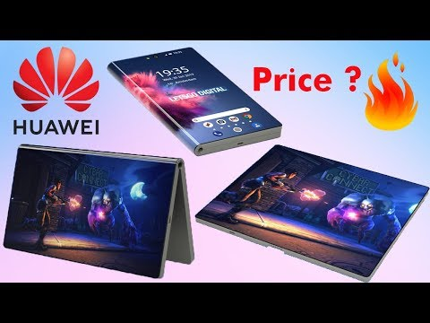 Huawei Foldable Phone - Price is Insane